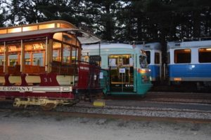 Illuminated Cars - Largest Electric Railway Museum in the World