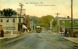 Trolley History in the Kennebunks