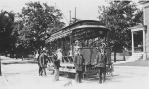 History of Streetcars in Lowell
